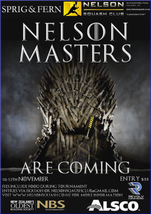 Nelson Masters 2017